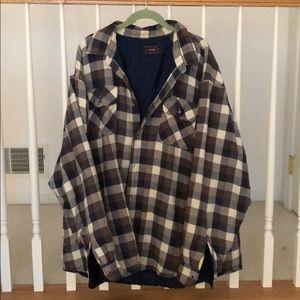 Men's Wrangler Lined Flannel
